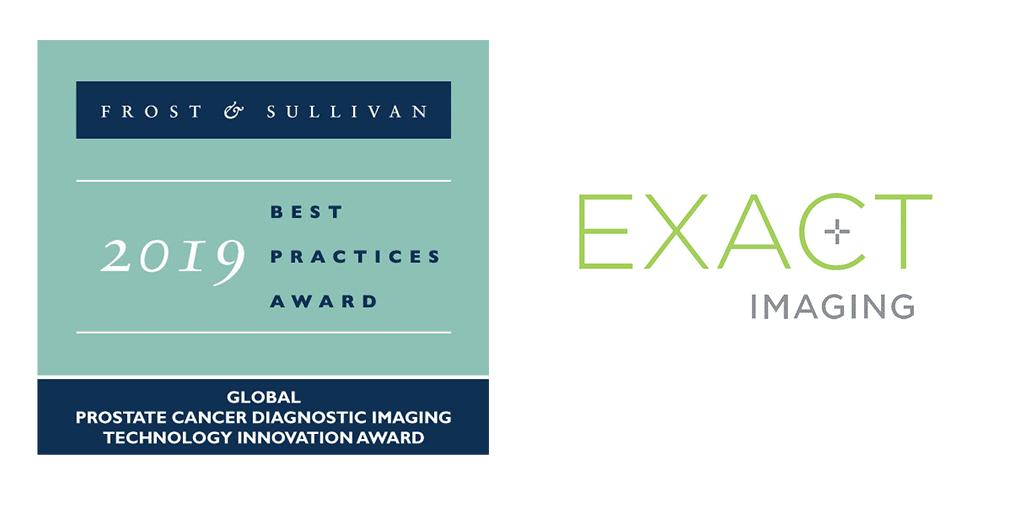 Exact Imaging wins Frost & Sullivan 2019 Diagnostic Imaging Technology Innovation Award