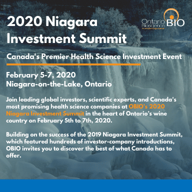 OBIO 2020 Niagara Investment Summit presenting companies